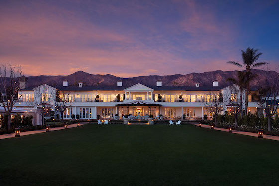 The Great Lawn at the Rosewood Miramar Beach