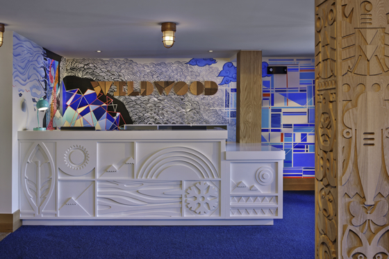 Lobby experience at Wildwood Snowmass