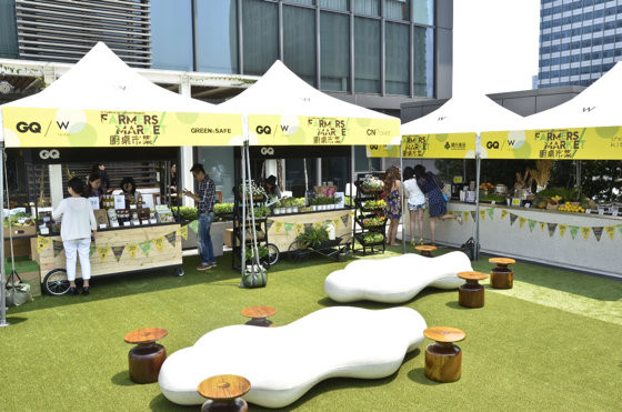 This year, W Taipei launched its third Farmers Market featuring locally sourced vegetables, seasonal plants, homemade breads and pastries and more.